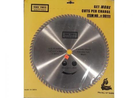 WORK FORCE Carbide-tipped Circular Saw Blade